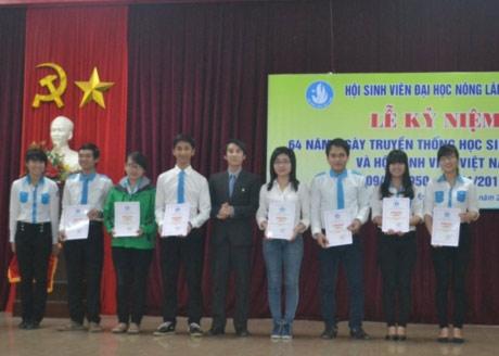 ĐH Nông Lâm Huế kỷ niệm 64 năm Ngày truyền thống HSSV