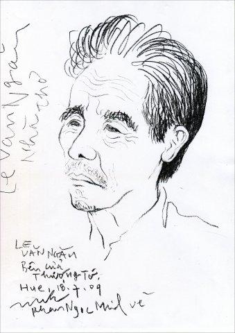 Nhà thơ Lê Văn Ngăn đã đi xa
