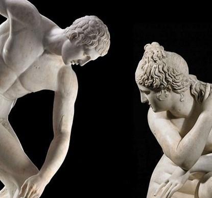 Vì sao những bức tượng Hy Lạp cổ đại thường... khỏa thân?