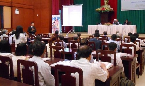 """Hội thảo """"Dấu ấn Huế, bản sắc Việt trong sản phẩm thủ công truyền thống"""""""