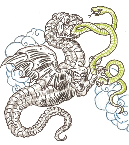 Năm rắn nói chuyện rắn