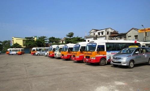 Thừa Thiên – Huế: Tài xế xe buýt đồng loạt đình công