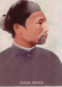 Vua Hàm Nghi ghé làng tôi