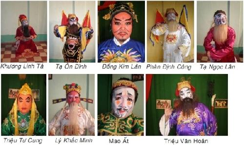 Nghệ thuật khắc họa tính cách và hành động nhân vật qua hai vở tuồng cung đình 'Sơn Hậu' và 'Ngọn lửa Hồng Sơn'