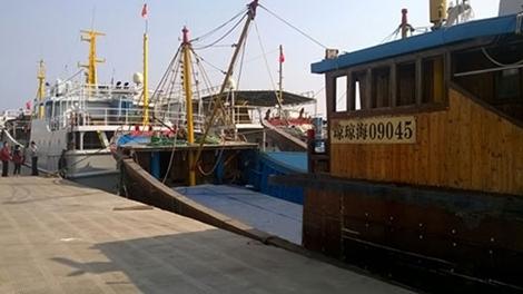 Từ cảng cá Tam Á nhìn về Hoàng Sa, Trường Sa