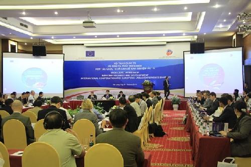 """An ninh và phát triển biển: Hợp tác quốc tế và chia sẻ kinh nghiệm Á-Âu"""""""