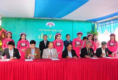 Lễ ký kết liên minh hợp tác và khai trương chuỗi giá trị sản xuất kinh doanh nông nghiệp hữu cơ, nông nghiệp sạch, bền vững