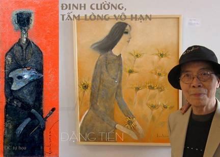 Nhắm mắt mường tượng một thế giới nghệ thuật của Đinh Cường