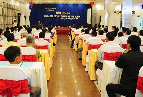Hội nghị hướng dẫn các quy định về an toàn Vật liệu nổ công nghiệp