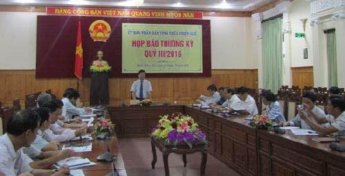 Thừa Thiên Huế: Tổng thu ngân sách quý III ước đạt 4.198,8 tỷ đồng