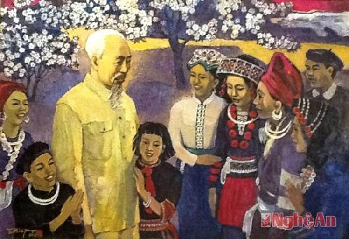 Người dân họ Hồ - Làm theo lời Bác