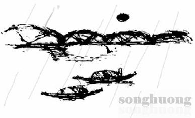 Khúc hát mưa trên sông Hương