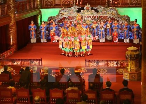 Gặp các nghệ sỹ hai lần biểu diễn Nhã nhạc Huế phục vụ Nhật hoàng