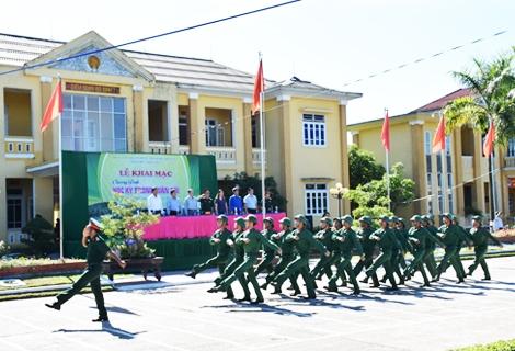 """100 em thiếu nhi  tham gia Chương trình """"Học kỳ trong Quân đội"""" năm 2017"""