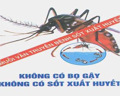 Mít tinh hưởng ứng Ngày ASEAN phòng chống sốt xuất huyết.