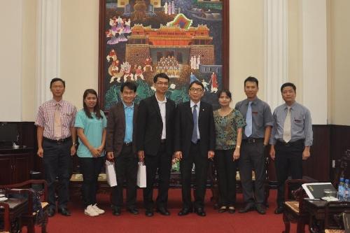 Đại học Loei Rajabhat (Thái Lan) thăm và làm việc tại Đại học Huế.