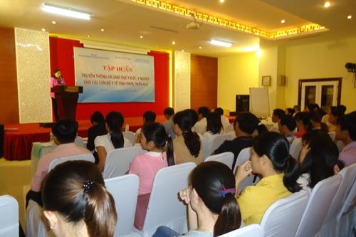 Tập huấn Truyền thông và giáo dục Y đức, Y nghiệp tại tỉnh Thừa Thiên Huế