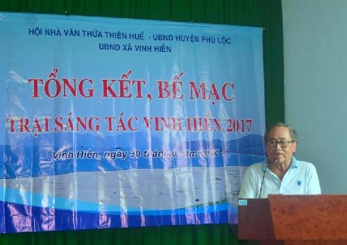 Công bố 43 tác phẩm văn học về vùng đất Vinh Hiền