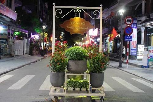 Đưa vào hoạt động tuyến phố đi bộ về đêm tại phố Tây