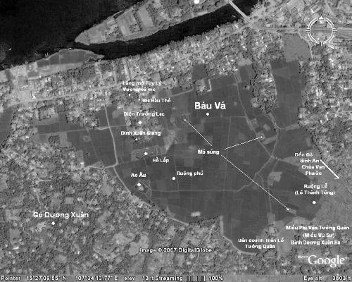 Giác Vương Nội Viện thời Minh vương Nguyễn Phúc Chu ở đâu?