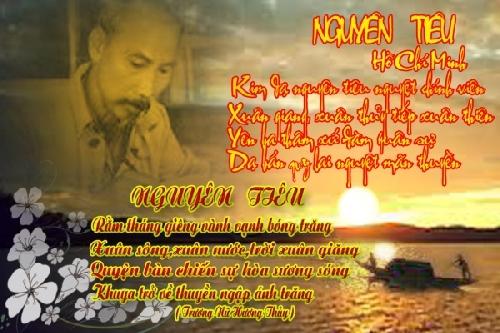 """Cảm thức vũ trụ trong bài thơ """"Nguyên tiêu"""" của Chủ tịch Hồ Chí Minh"""