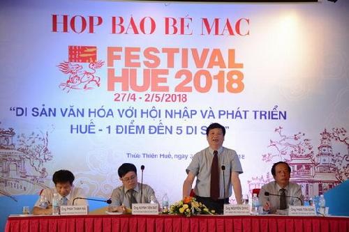 Họp báo tổng kết Festival Huế 2018