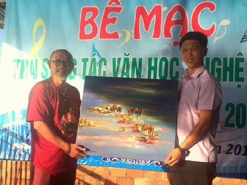 Bế mạc trại sáng tác văn học nghệ thuật  Quảng Điền năm 2019.