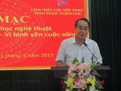 """Khai mạc trại sáng tác VHNT """" Công an Thừa Thiên Huế - vì bình yên cuộc sống"""""""