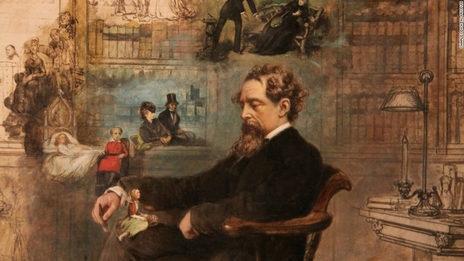 Chuyện tình thầm lặng, li kì của nhà văn Charles Dickens