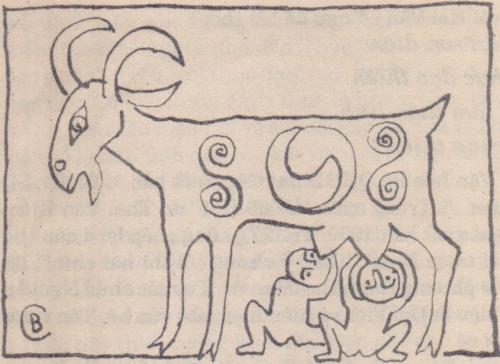 Dê và biểu tượng của dê