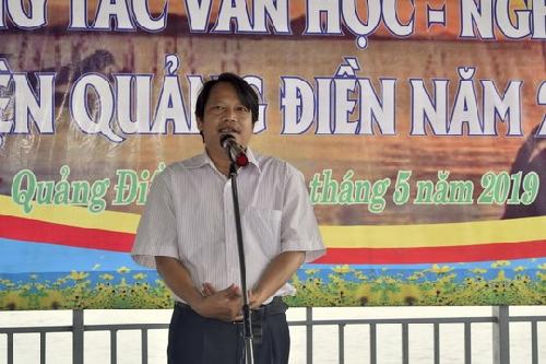 Khai mạc trại sáng tác Văn học nghệ thuật Quảng Điền năm 2019