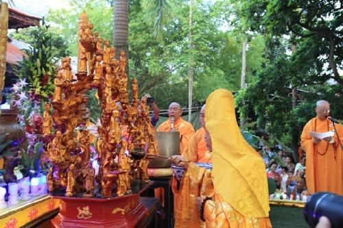 Lễ Mộc dục và rước Phật  cầu quốc thái dân an