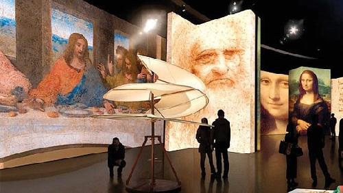 Tưởng niệm 500 năm ngày mất Leonardo da Vinci