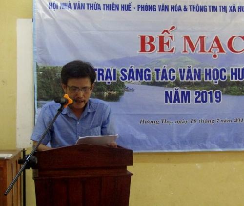 Bế mạc trại sáng tác Văn học Hương Thọ năm 2019