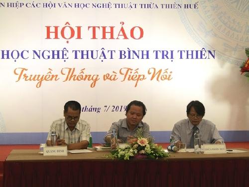 Văn học nghệ thuật Bình Trị Thiên - Truyền thống và tiếp nối