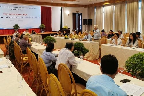 Tọa đàm khoa học lấy ý kiến đổi tên Giải Báo chí Thừa Thiên Huế