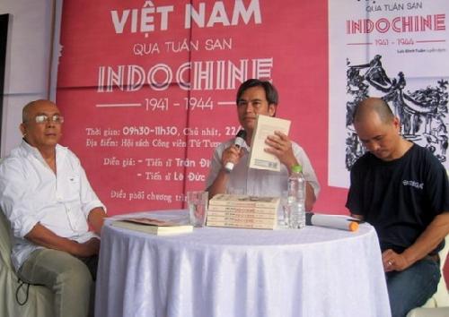 """Ra mắt tác phẩm """"Việt Nam qua tuần san Indochine 1941 – 1944"""""""