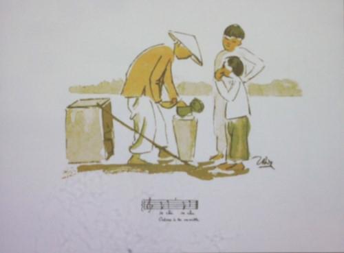 Sắp đặt gánh hàng rong và tiếng rao: Không chỉ là hoài niệm…
