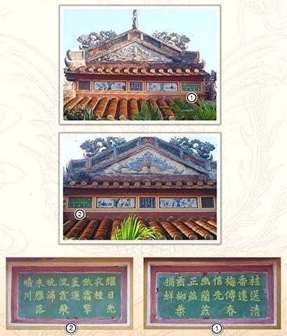 Loại thể trong thơ trên kiến trúc cung đình Huế