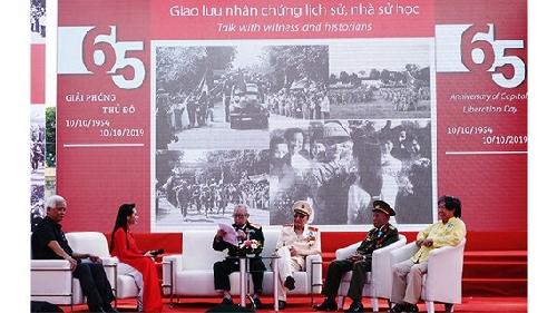 Nhiều hoạt động văn hoá nghệ thuật mừng 65 năm Ngày Giải phóng Thủ đô