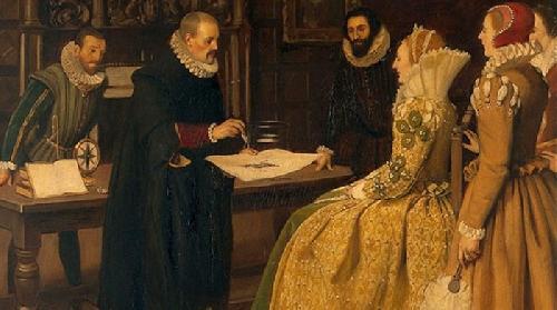 Elizabeth I là tác giả của bản dịch Tacitus