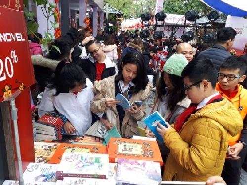 Khai mạc Phố sách xuân Canh Tý 2020 tại Hà Nội