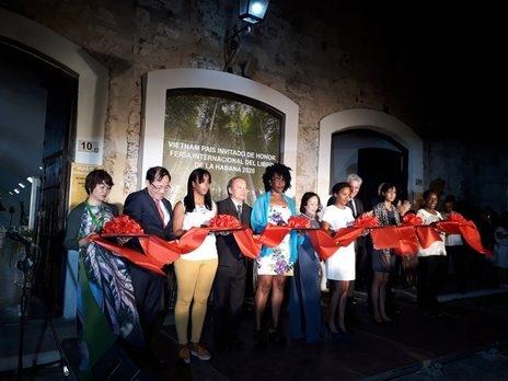 Lễ khai mạc Hội sách Quốc tế La Habana lần thứ 29
