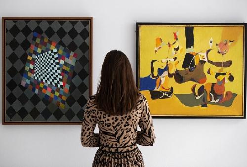 Hai bức tranh của Gorky và Kandinsky lần đầu tiên xuất hiện sau gần 50 năm