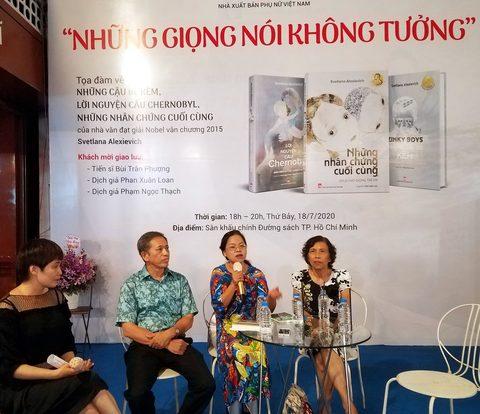 Giới thiệu bộ sách văn học phi hư cấu của nữ tác giả đoạt giải Nobel