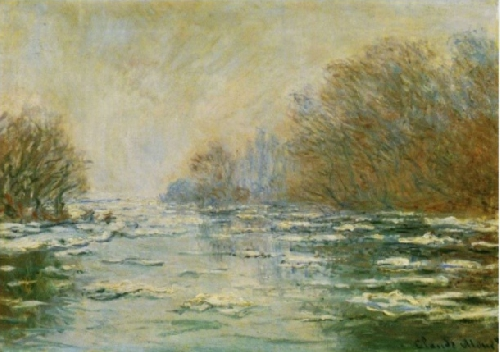Vẻ đẹp mùa đông trong tranh của Claude Monet