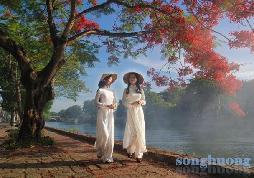 Áo dài Việt Nam - hơi thở cuộc sống đời tôi