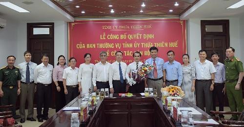 Điều động, chỉ định tham đồng chí Võ Lê Nhật tham gia Ban Chấp hành Đảng bộ Thành phố, Ban Thường vụ Thành ủy, giữ chức vụ Phó Bí thư Thành ủy, nhiệm kỳ 2020 - 2025