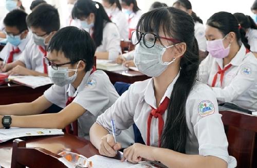 Học sinh trên địa bàn tỉnh đến trường từ ngày 20/9/2021