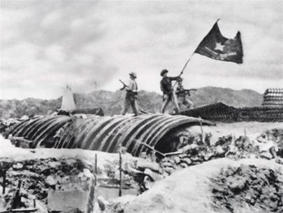 Quân ta toàn thắng ở Điện Biên Phủ